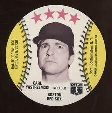 1976 Towne Club Disc, Yastrzemski, NrMt condition