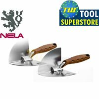Nela Internal Stainless NelaFLEX Angle Corner Plastering Trowel 90 or 103 Degree
