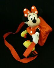 Disney Theme Parks Disneyland Minnie Mouse Plush Fanny Pack Red Polka Dot Dress