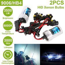 2pcs Car Xenon Super Vision 35W HID Head Light Lamp Bulb 8000K HID 9006