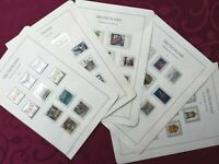 WEST GERMANY 1992: 52 stamps MNH**VF , 5 album pages