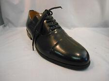 Giorgio Brutini Black Leather Cap Toe Dress Oxfords Shoes Young Men's Sz 6 M