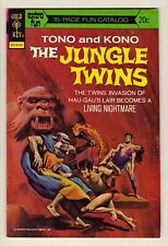 The Jungle Twins #8 - Jan. 1974 Gold Key - Tono and Kono - Very Fine (8.0)
