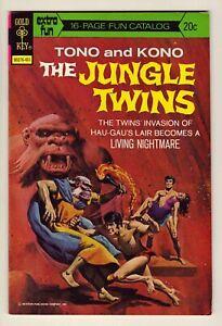 The Jungle Twins #8 - Jan. 1974 Gold Key - Tono and Kono - Very Fine (8.0)