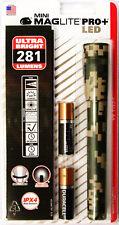 Maglite SP+PMRH Mini Mag 2-Cell Camo LED PRO+ Flashlight 281 Lumens Hunting USA
