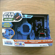 STAR WARS Jedi Force TIE ADVANCED FIGHTER & DARTH VADER Hasbro PLAYSKOOL HEROES