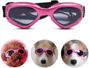 Dog Goggles Sunglasses Eye Protection Sun for Schnauzer Chihuahua Bulldog Medium