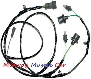stepside rear body tail light lamp wiring harness Chevy GMC pickup truck 79-84