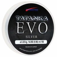 Angelschnur Tubertini Tatanka Evo Silver Fluorine Meer Spinning Surfcasting Bolo
