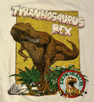 Vintage 90s Dinosaur Jurassic Park Movie Promo T Rex Single Stitch Graphic Shirt