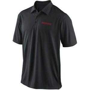 Washington Redskins NFL Nike Black Football Coaches Sideline Dri-FIT Polo Shirt