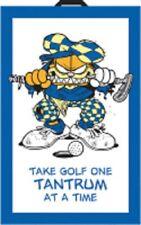 "Garfield Attitude Golf Towel  Winning Edge Designs 16""x24"""