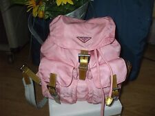 Pink Prada Backpack