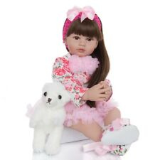 Kids Girls Realistic Baby Dolls Soft Full Body Play Toys Birthday Christmas Gift