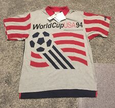 Vintage 1994 USA Soccer World Cup Polo Shirt BRAND NEW WITH TAGS