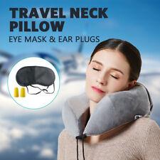 Memory Foam Rebound evolution Pillow U-Shaped Neck Support Headrest  Car Flight