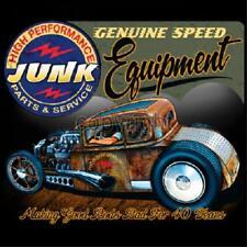 Rat Rod Genuine Speed Equipment Junk Parts&Service Hot Rod T-shirt Small to 5XL