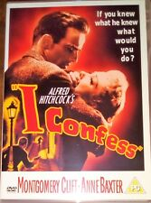 I CONFESS DVD FILM MOVIE MONTGOMERY CLIFT ANNE BAXTER ALFRED HITCHCOCK
