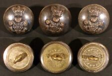3 BRITISH WW I BUTTONS