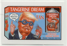 Wacky Packages 2016 Disgrace To The White House Card #116 Tangerine Dream Tan