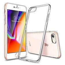 Ultra delgado funda hacia atrás para Apple iPhone 4 4s 5 5s Case 6 6s SE 7 8 2017 Plus X