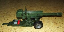Plastic toy. Shooting cannon. Russian recoilles gun.