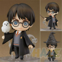 "Nendoroid 999 Anime Harry Potter Harry 4"" PVC Action Figure Model Toy In Box"