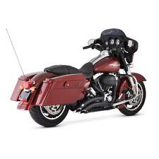 """Vance & Hines 2 1/2"""" Big Radius, Schwarz, für Harley-Davidson Touring 99-08"""