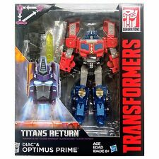 Transformers Generations Titans Return Voyager Class OPTIMUS PRIME & DIAC NEW!!!