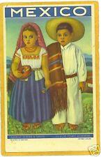 Advertising Postcard - Mexico Tourism