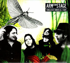 ARM ON STAGE sunglasses under all stars CD 2010 digipak Folco Orselli