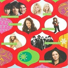 All Wrapped Up CD by Jonas Brothers Miley Cyrus Plain White T's Jordan Pruitt ++