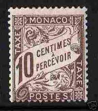 "MONACO 1905-09 TIMBRE-TAXE 4 ""10c BRUN"",NEUFxx TTB RARE"