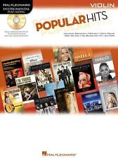 Play-Along Popular Hits Learn to Play POP Rock Fiddle Violin Music Book & CD