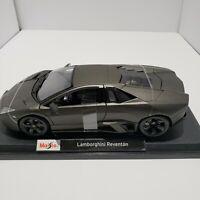 Maisto Lamborghini Reventon 1:18 Special Edition Diecast Car. Dark Gray