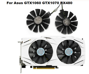 Fan For ASUS GTX 1060 1070 RX 480 RX480 Fans T129215SU PLD09210S12HH GPU Cooler