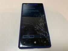 HTC 8X - 16GB - Blue (Verizon) Cracked Screen (CDMA) - Parts - Grade E