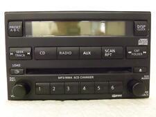 IR15460 NISSAN TITAN 2011-2012 OEM RADIO 6 CD CHANGER  JACK AUX CAT 281859FD1A