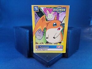 "Upper Deck Digimon ""Patamon"" Rookie #17/34 Series 2 Single Card"