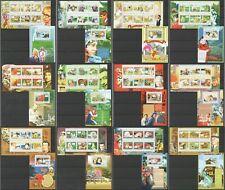 BC357-368 2010 GUINEA FAUNA ANIMALS LUNAR CHINESE CALENDAR YEAR !! 12KB+12BL MNH