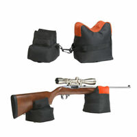 Portable Shooting Front Rear Bench Rest Gun Bag Range Rifle Target Stand Hunting