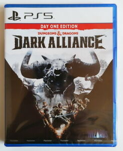 PS5 PlayStation 5 Dungeons & Dragons Dark Alliance 龙与地下城 黑暗联盟 HK Chinese/English