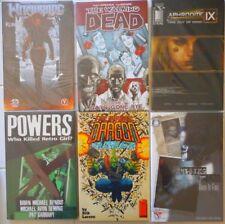 6 Image Tpb Lot/Walking Dead #1/Savage Dragon/Powers/Rising Stars/Aphrodite Ix/+