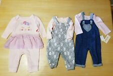 Gymboree/Little Wonders/Cat & Jack Mixed Lot 3-6 Month Outfits 2 New with Tags