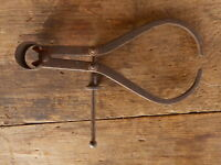Antique Carpenters Drafting Caliper Compass Carpentry Woodworking #2