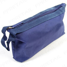 Men's Large Canvas Toiletry Bag Gents Weekend Sports Washbag Travel Wash Case