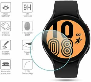 Tempered Glass Screen Protector For Samsung Galaxy Watch 4 40/44mm Classic 42/46
