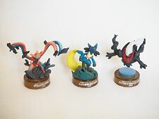 Very Rare JAPAN Pokemon kaiyodo Deoxys Lucario Darkrai mini figure Nintendo