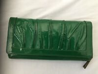 Nordstrom Wallet Women's Genuine Leather Green Accessory