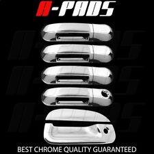 For Ford Explorer Sport Tract 02-06 Chrome Covers 4 Doors Handles+Tailgate Kh